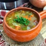Instant Pot Cabbage Soup square featured image