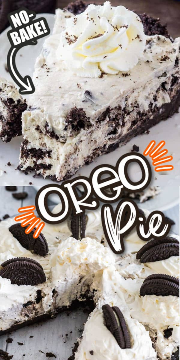 No-Bake Oreo Pie Pinterest Image