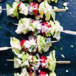 Wedge Salad Skewers | Princess Pinky Girl