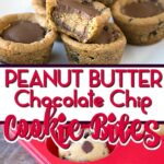 peanut butter chocolate chip cookie bites