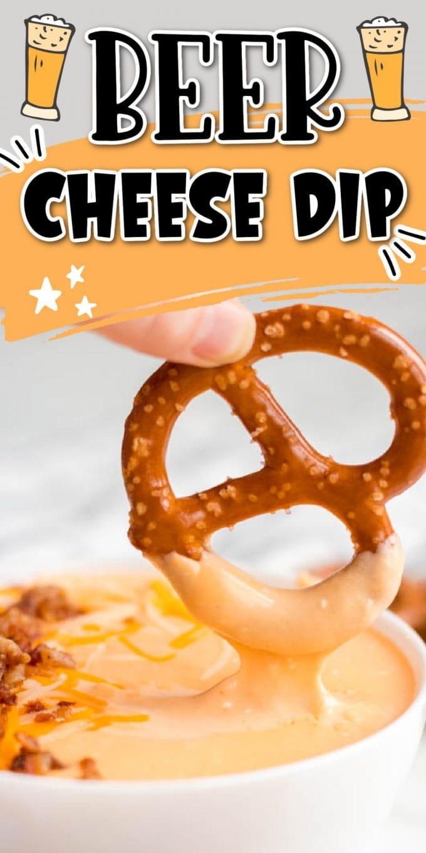 Beer Cheese Dip pinterest