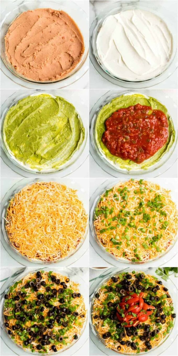 How to make 7-layer Dip