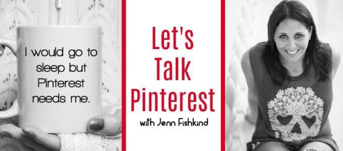 Let's Talk Pinterest Facebook Cover