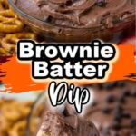 Pinterest 600 x 1200 -brownie batter dip