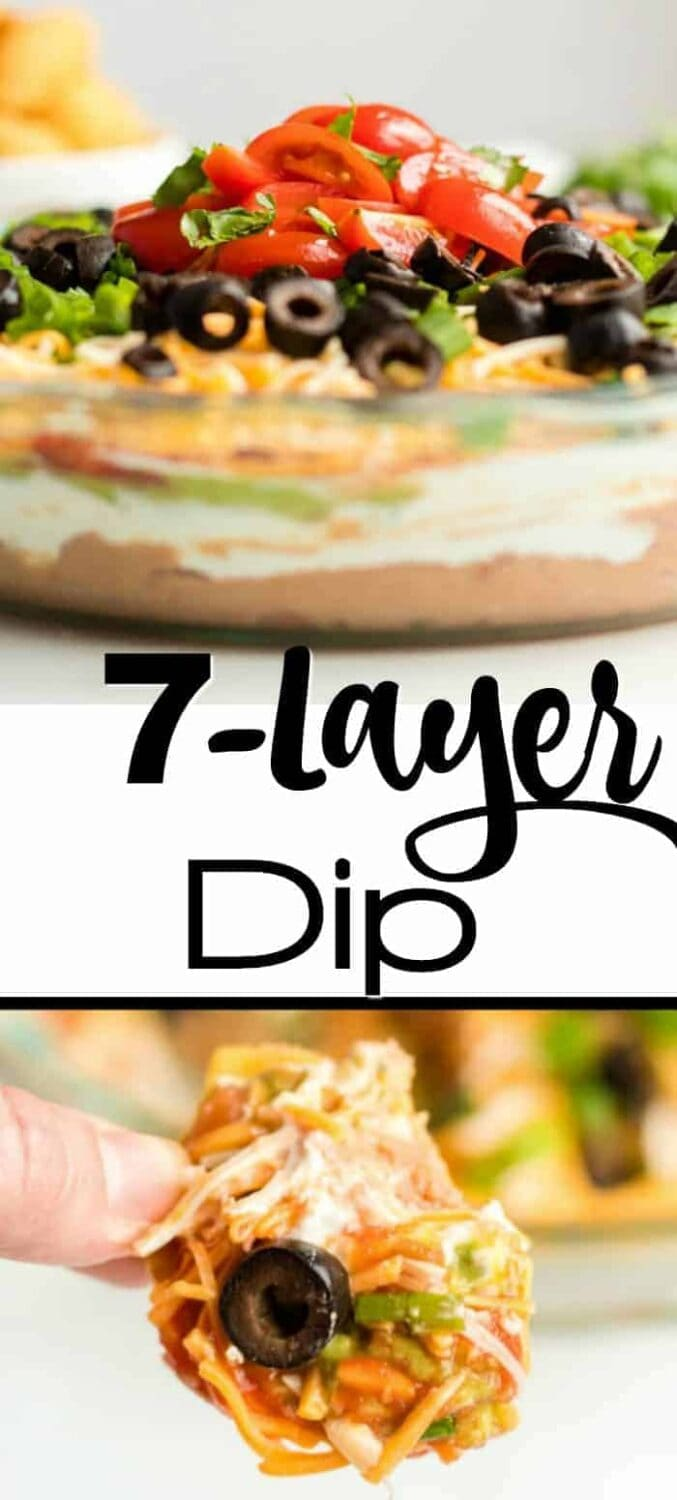 The Best 7-Layer Dip