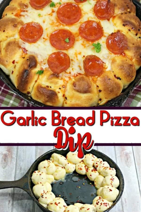 Garlic Bread Pizza Bread