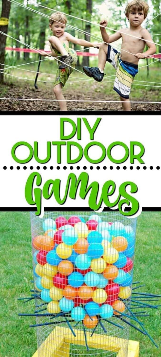 DIY Outdoor Game Ideas