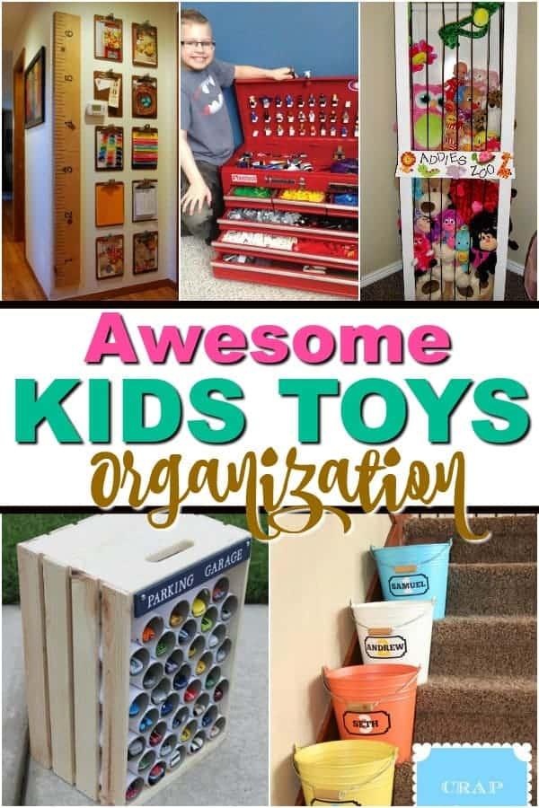 Kids Toy Organization Ideas