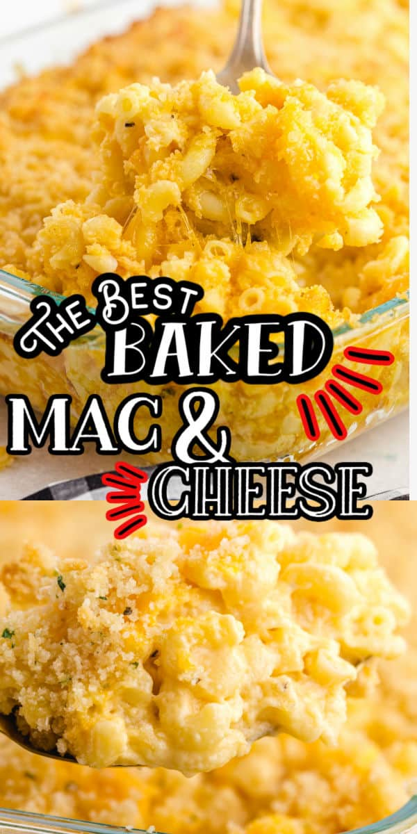 Baked Mac and Cheese Pinterest Image