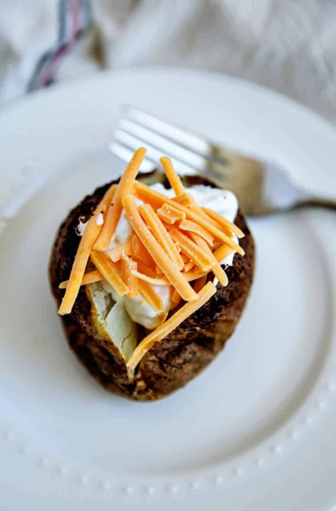 Air Fryer Baked Potatoes by 30 Handmade Days