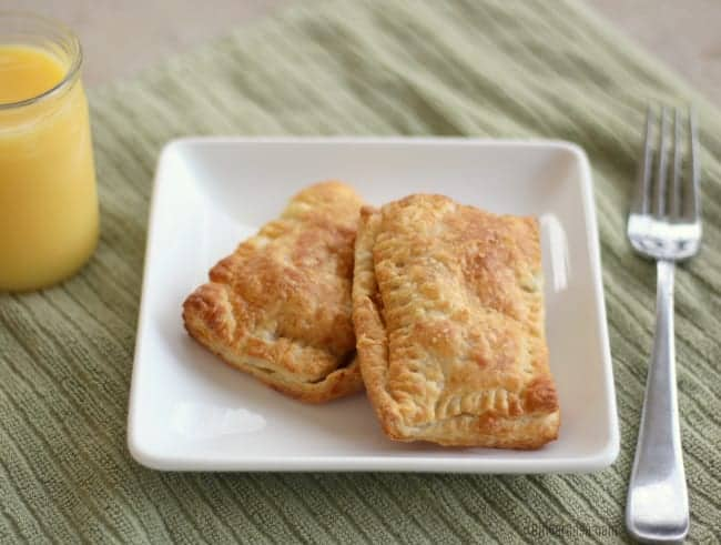 Air Fryer Breakfast Pockets by Ginger Casa