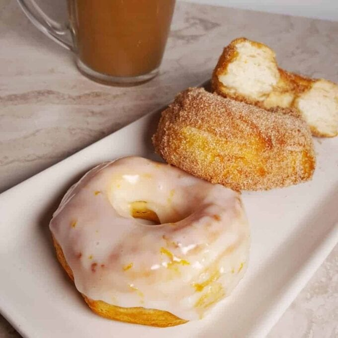 Air Fryer Donuts by This Old Gal