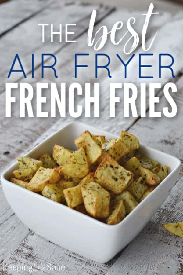 Air Fryer French Fries by Keeping Life Sane