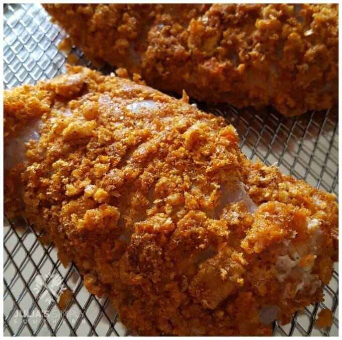 Air Fryer Fried Chicken from Julias Simply Southern