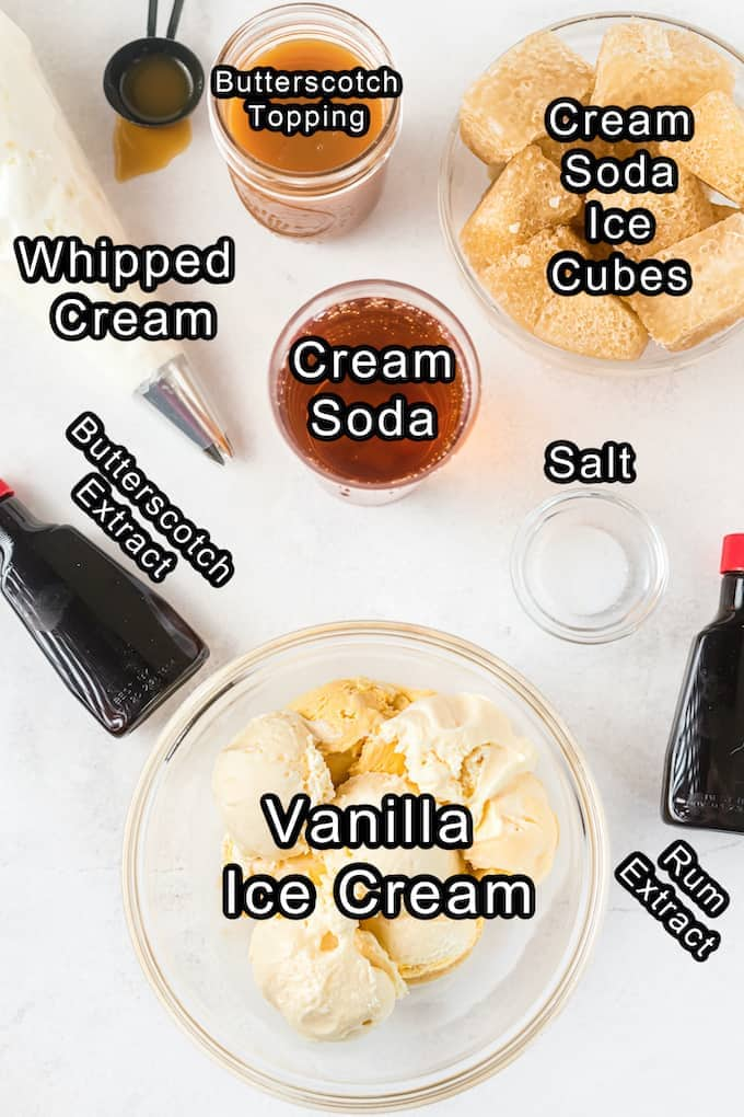 Harry Potter Frozen Butterbeer Ingredients