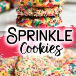 Rainbow Sprinkle Cookies