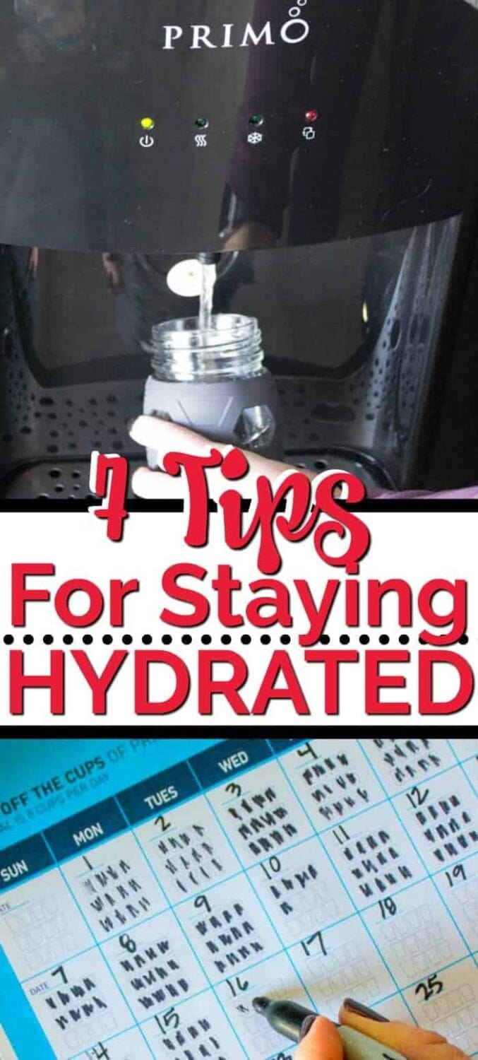 Primo Water 7 tips for staying hydrated