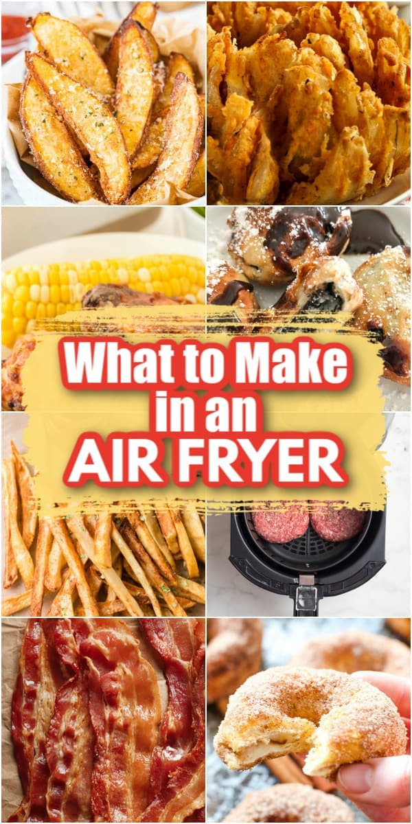 what to make in an air fryer