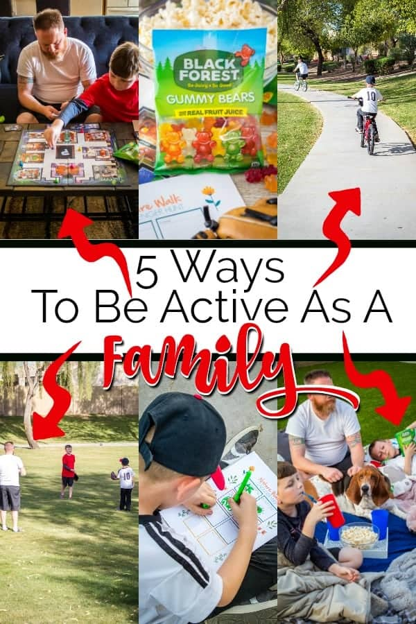5 ways to be active as a family