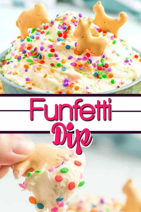 How to make funfetti dip