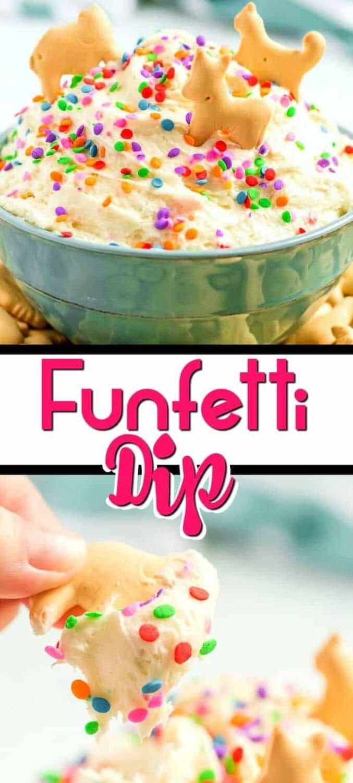 funfetti dip pinterest