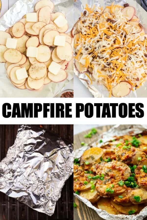 How to make Campfire Potatoes