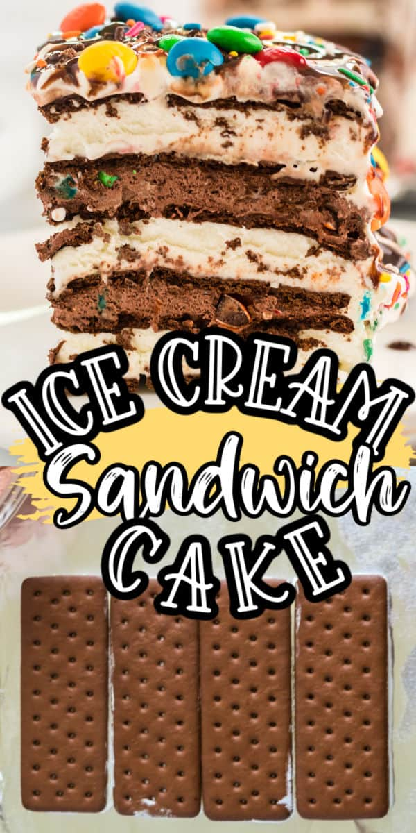 ice cream sandwich cake pinterest