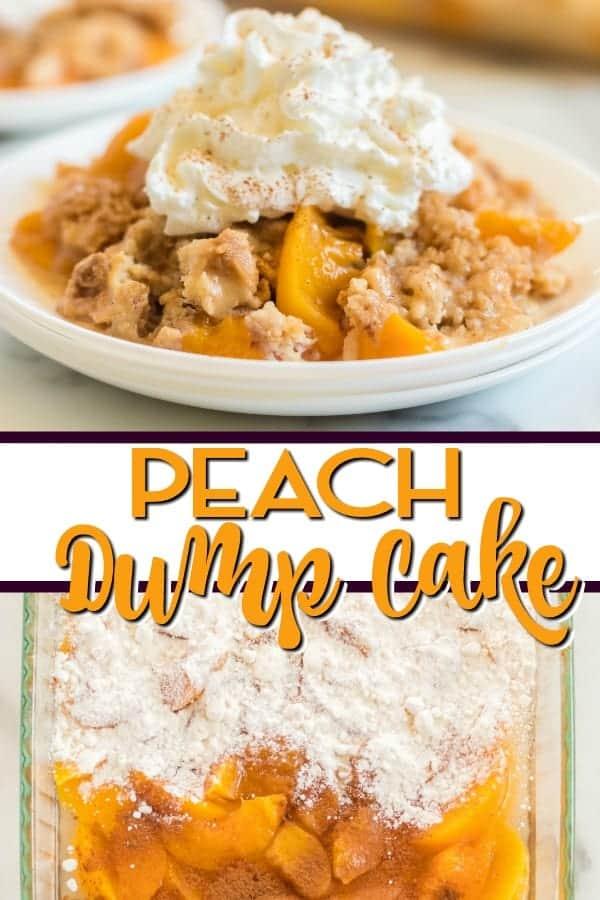 Easy Peach Dump Cake