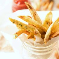 air fryer french fries featured image