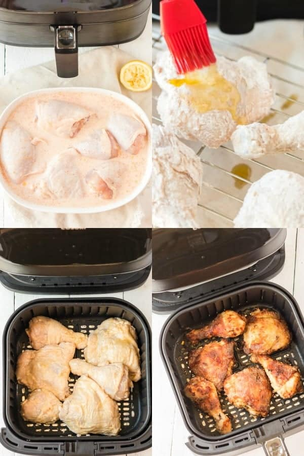 How to make Air Fryer Fried Chicken