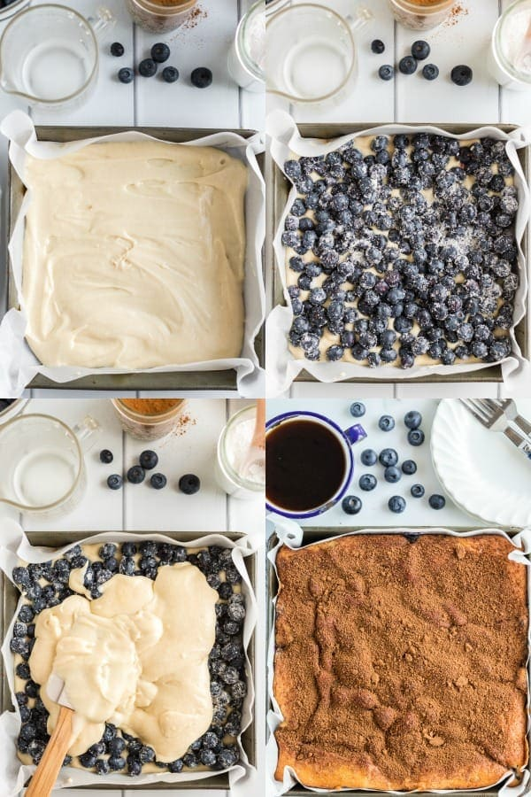 How to make Blueberry Coffee Cake