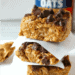 No bake peanut butter oatmeal bars square