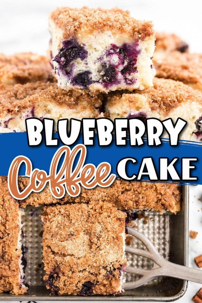 blueberry coffee cake pinterest