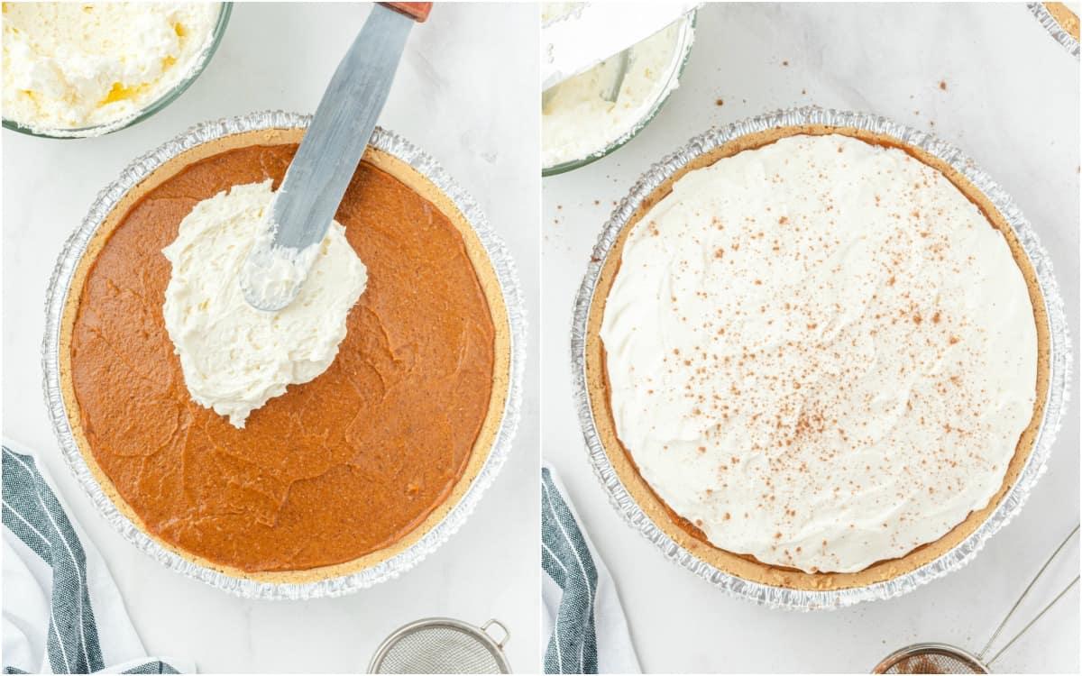 2nd layer of pumpkin pie