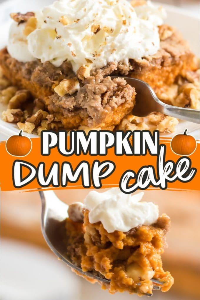 pumpkin dump cake pinterest