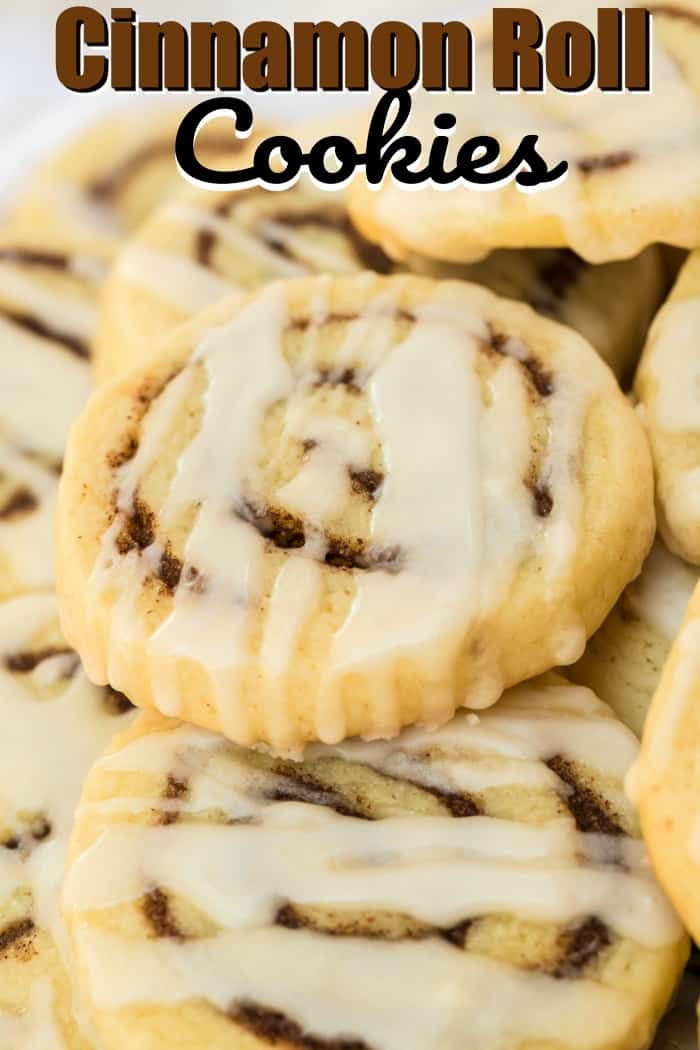 Cinnamon Roll Cookies
