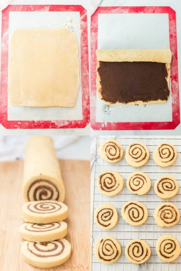 How to make Cinnamon Roll Cookies