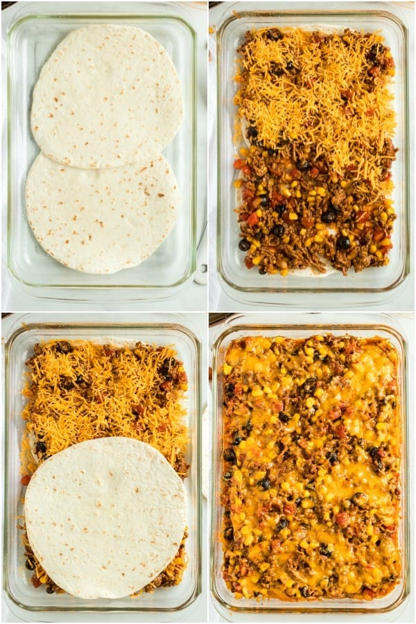How to make a taco bake
