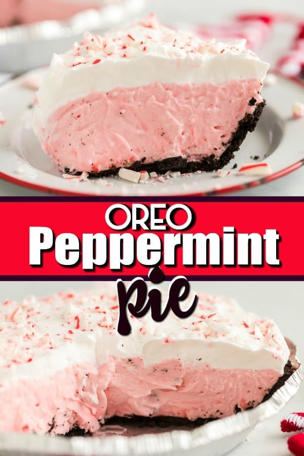 The Best Oreo Peppermint Pie Recipe