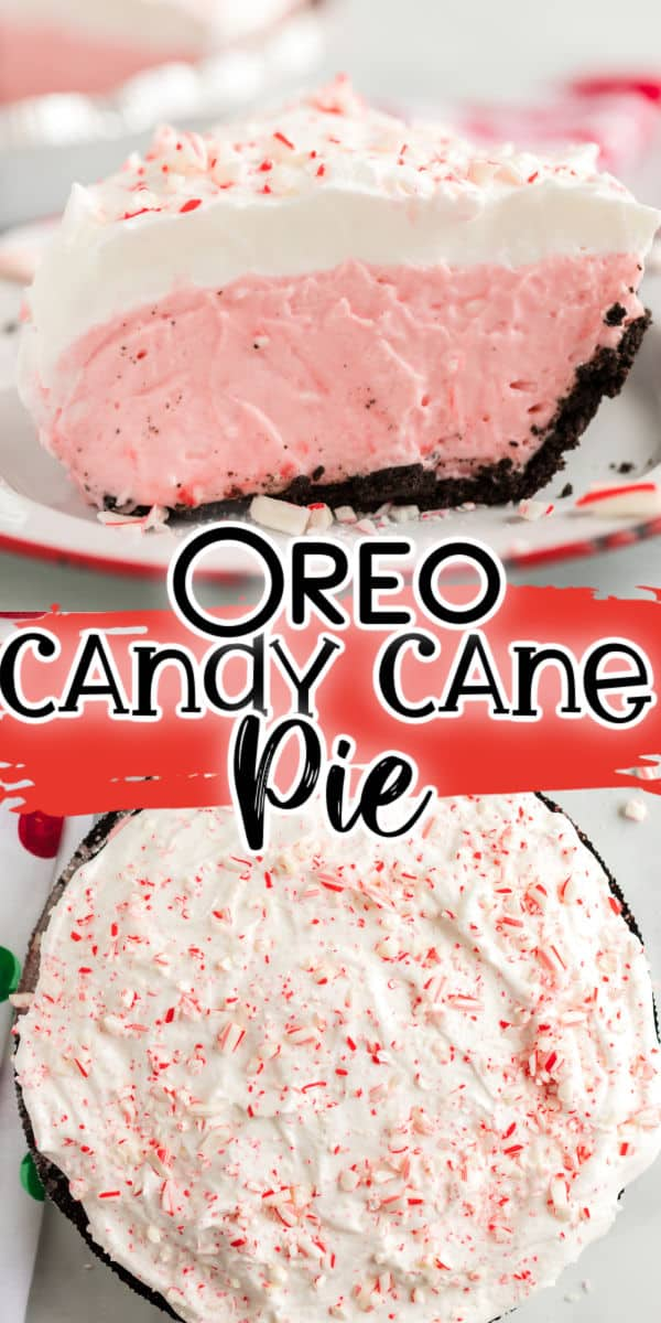 Candy Cane Pie Pinterest Image