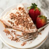 No Bake Chocolate Pudding Pie