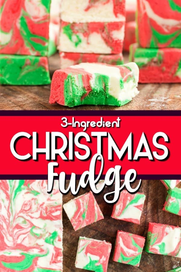 Christmas Fudge pinterest