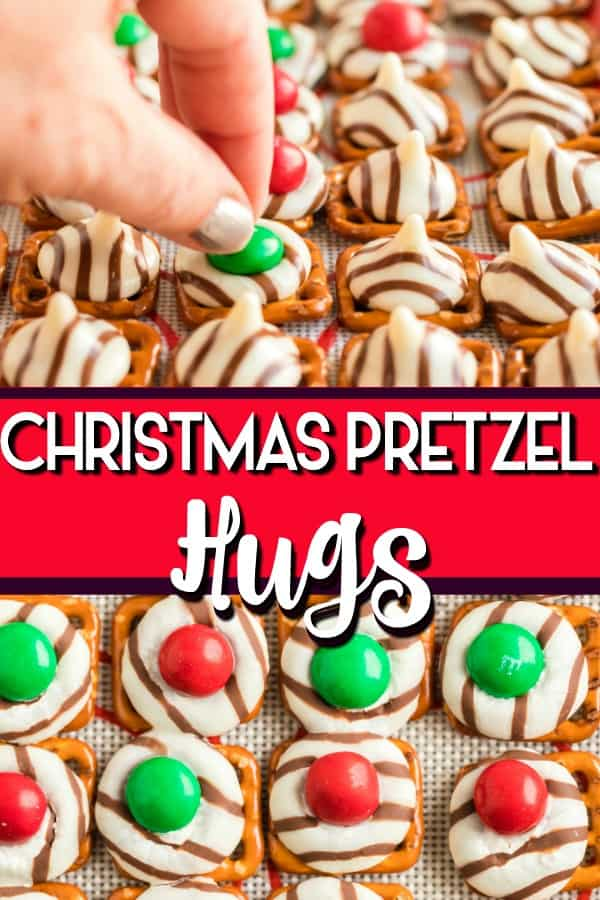 Pretzel Hugs pin