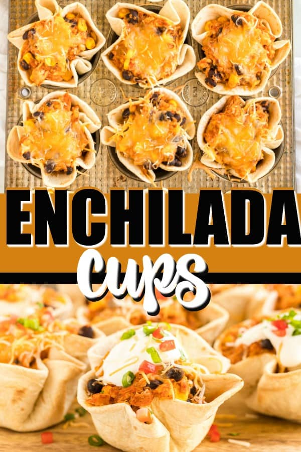Enchilada Cups pinterest