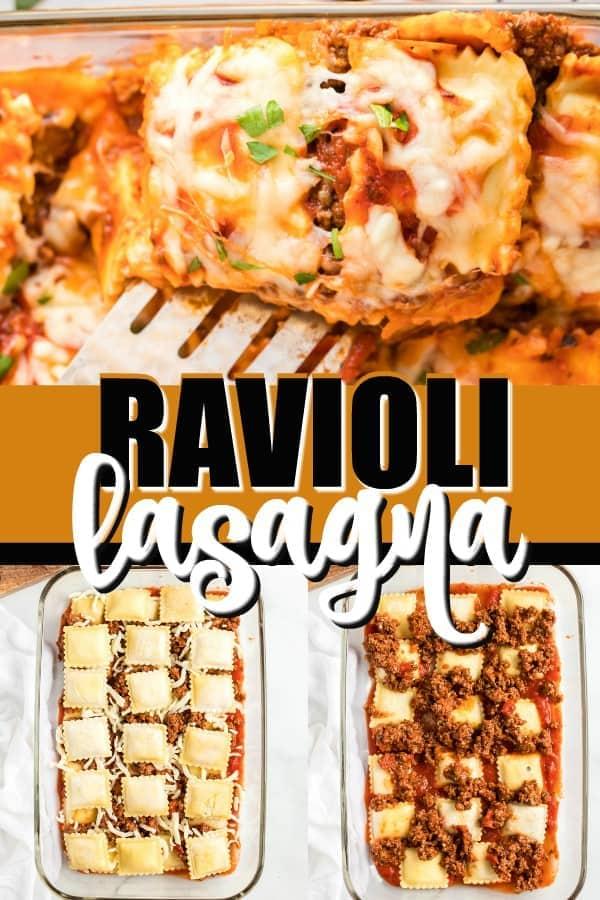 Ravioli Lasagna pinterest