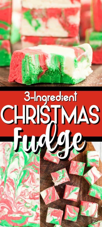 Microwave Christmas Fudge Pin