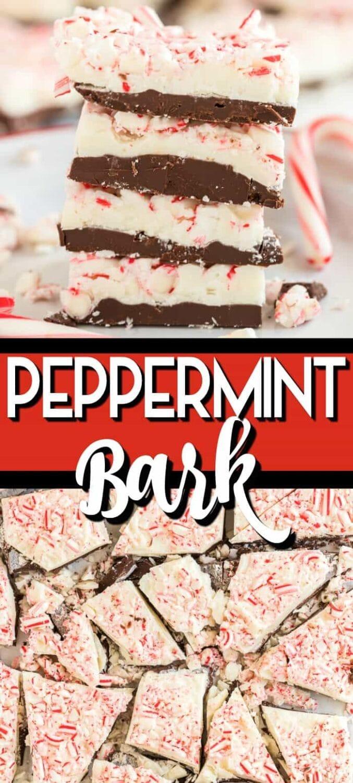 Peppermint Bark Pin