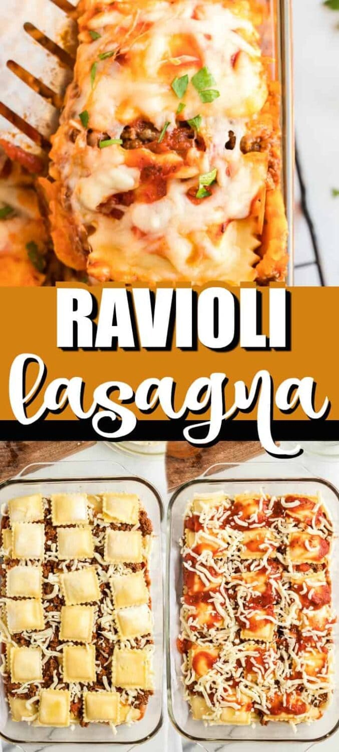 How to Make Ravioli Lasagna