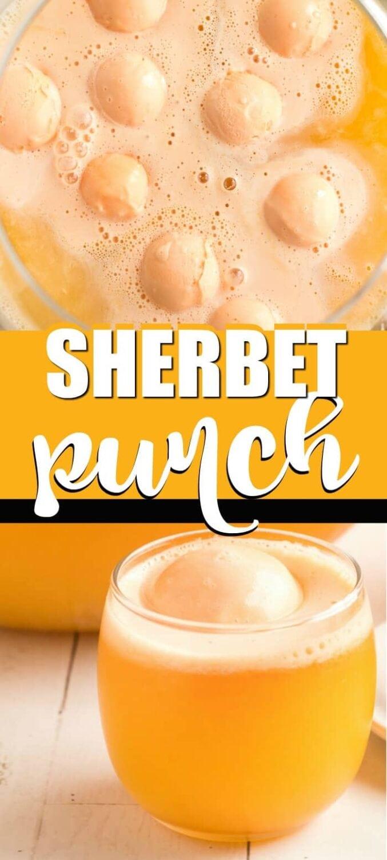 Sherbet Punch Recipe