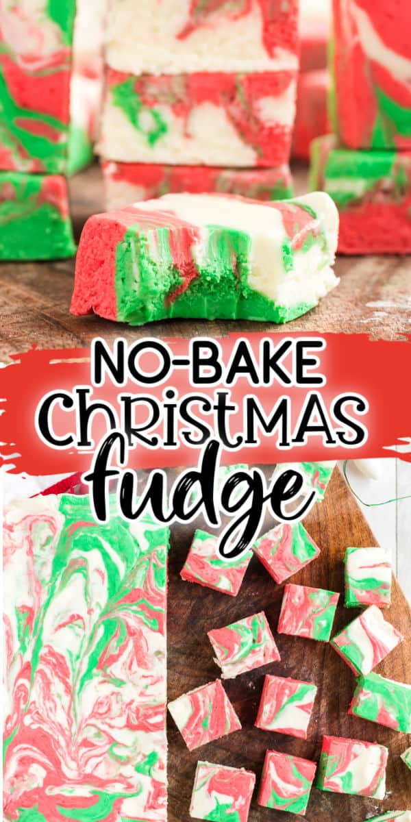 Christmas Fudge Pinterest Image